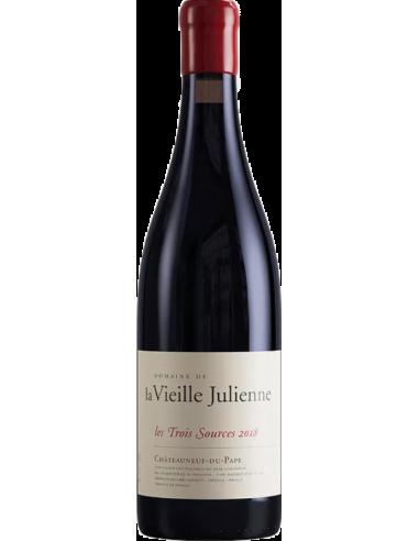 La Vieille Julienne - Châteauneuf-du-Pape Les 3 sources 2018 75 cl