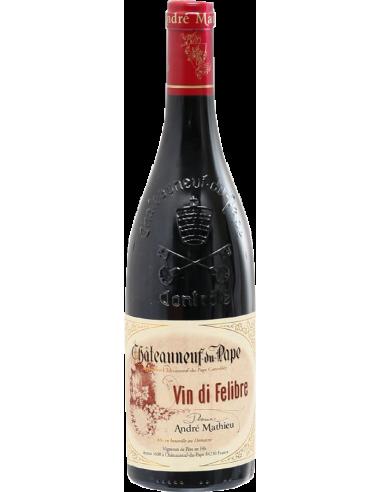 Domaine André Mathieu Châteauneuf-du-Pape Vin Di Felibre Rouge 2016 75 cl